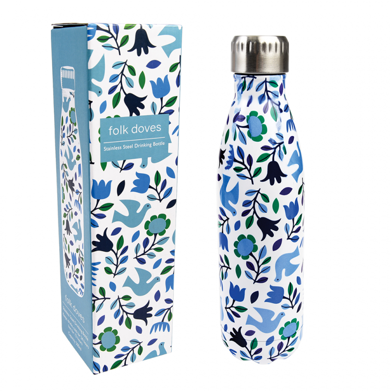 content/eco-gifts/folk-doves-stainless-steel-bottle-with-box.png