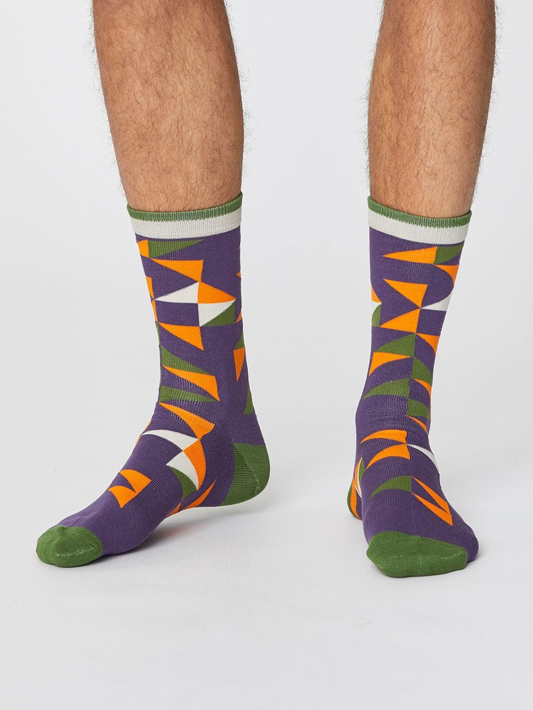 content/eco-gifts/plum-purple-triangle-patterned-bamboo-socks-thought.jpg