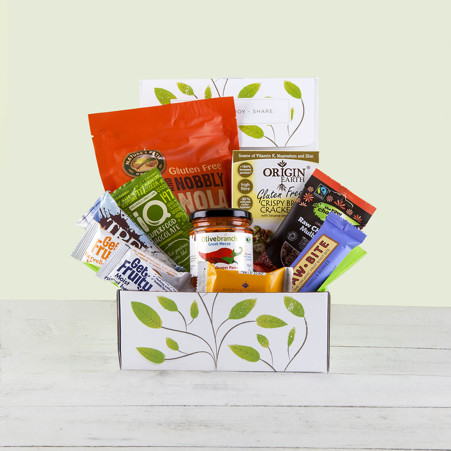 Organic vegan gluten free gifts hampers and products glorious gluten free natural hamper gift box negle Image collections