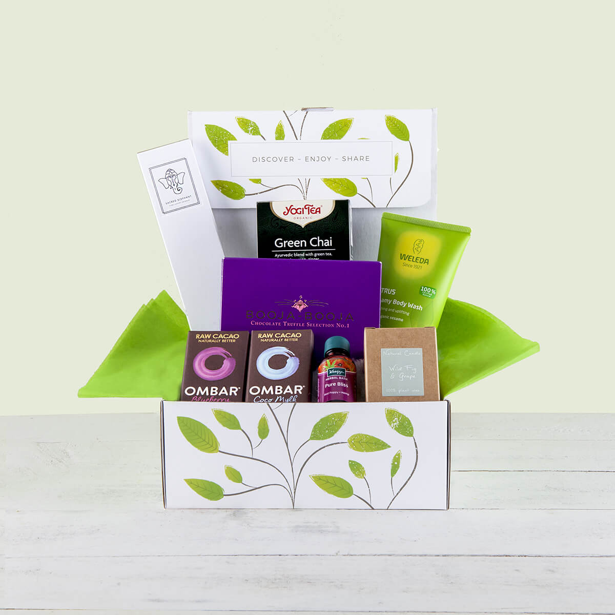 Organic vegan gluten free gifts hampers and products pamper hamper gift box negle Choice Image