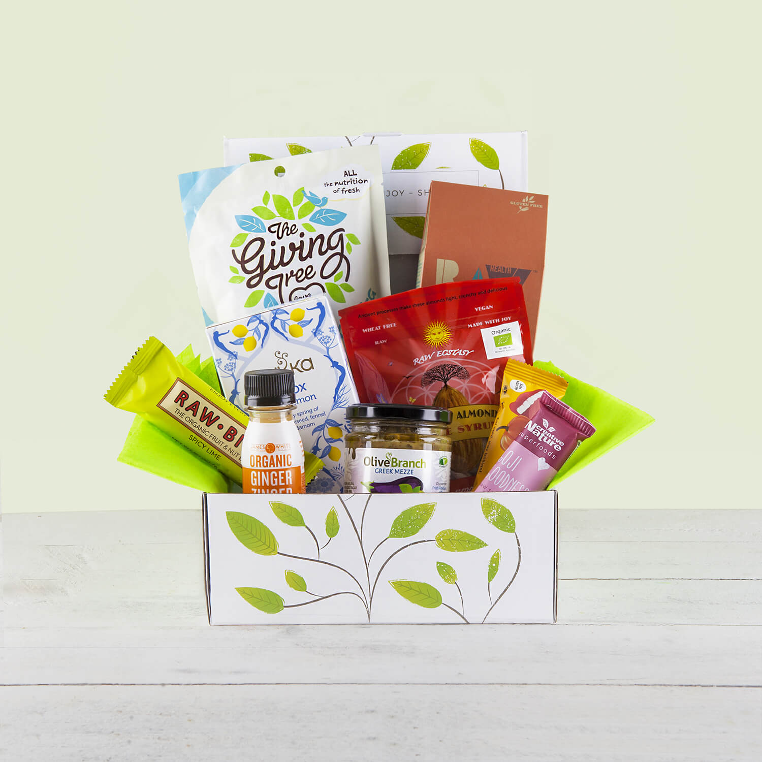 Content Products Supercharge Healthy Natural Hamper Gift Box