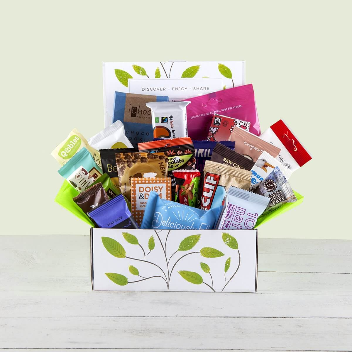 Content Products The Vegan Snack Attack Hamper Gift